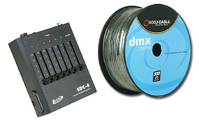 DMX Controllers & Cables