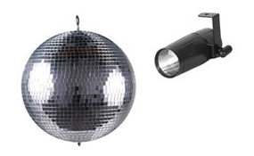 Mirror Balls Pinspots & Motors