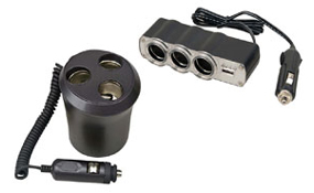 Car Adapters & Power Inverters