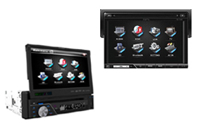 In-Dash LCD Monitors|escape