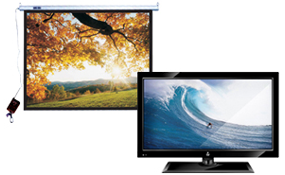 LCD Plasma TV & Projector Screens|escape