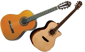 Acoustic & Classical Guitars