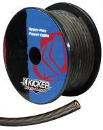 Kicker 09PWG8200-5FT Car Audio Amplifier 5 Foot Increment Gray 8GA Power or Ground Wire