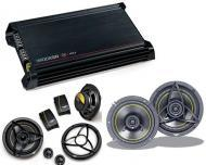 """Kicker Car Audio DX300.2 Amplifier Amp & Two Pairs KS650.2 6 1/2"""" Component Speakers Pac..."""