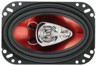 """Boss CH4630 CHAOS EXXTREME 4"""" X 6"""" 3-Way Speaker Red Poly Injection Cone"""