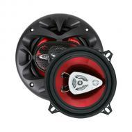 "Boss CH5530 CHAOS EXXTREME 5-1/4"" 3-Way Speaker Red Poly Injection Cone"