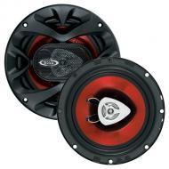 "Boss CH6520 CHAOS EXXTREME 6-1/2"" 2-Way Speaker Red Poly Injection Cone"