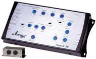 Lanzar OPTIX3B Optidrive 3-Way Electronic Crossover Network w/ Remote Bass Boost Level Control