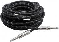 Pyle PCBL1F25 Premium Quality 25 Ft 1/4' To 1/4' Guitar/Amp/Instrument Cable W/Fabric S...