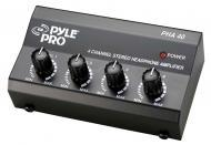 Pyle PHA40 4 Channel Stereo Headphone Amplifier