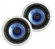 """Pyle Home Audio PIC8E 300 Watt High-End 8"""" Two-Way In-ceiling Speaker System w/Adjustable Tr..."""
