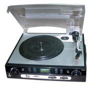 Pyle Home Audio PLTTB9U USB Turntable with direct-to-digital USB/SD Card Encoder & Built-in A...
