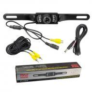 Pyle Car Audio PLCM10 License Plate Mount Rear View Camera w/ Night Vision