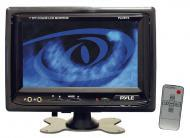Pyle Car Audio PLHR76 7' Widescreen TFT/LCD Video Monitor w/ Headrest Shroud