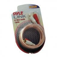 Pyle Car Audio PLRC6 6 Feet Stereo RCA Cable