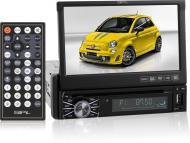 SPL SID-8902T Single Din A/V Source Unit w/ 7 Inch Flip-Up LCD Touch Screen (w/ Analog TV Tuner)
