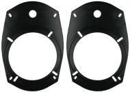 "Metra 82-6901 5-1/4"" or 6-1/2"" Speaker to 6"" x 9"" Mounting Hole Adapters"
