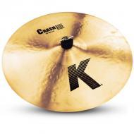 "Zildjian K0808 18"" K Series Crash Ride Drumset Cymbal with Cast Bronze Material & Mid to..."