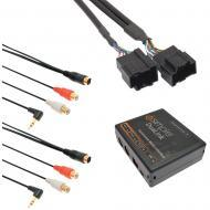 iSimple ISGM531 Dual Auxiliary Audio Adapter Kit for General Motor Vehicles