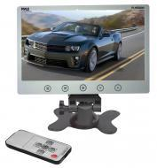 "PYLE PLHR98W 9.2"" Wide TFT/LCD Car Headrest Monitor with Stand & Shroud ( White)"