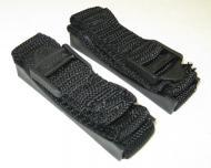 Bazooka ST8 Parts & Accessory Black 8 Inch Mounting Strap Kit For Tubes