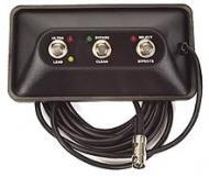 Peavey TransTube Special 212 Footswitch Three Button 7-Pin DIN Switches (3376410)