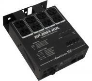 American DJ DP-DMX20L 4 Channel DMX Dimmer / Switch Pack 600W Per Channel
