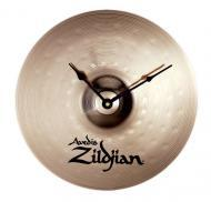 "Zildjian M2999 13"" Standard Clock made of real bronze Zildjian cymbal quartz accuracy & ..."