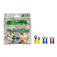 Install Bay IBR16 1 Bag of 24 Pcs Vinyl Assorted Rings #8 & #10 Polybag Retail Packed Hardware