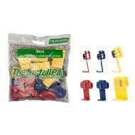 Install Bay IBR20 Assorted Scotch Lock 22/18-12/10GA One Bag of 24 Pcs Polybag Retail Packed Hard...