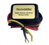 Install Bay IBNF30 Car Audio Installation Accessory 30 Amp Noise Filter