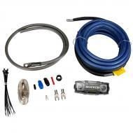 Kicker PK4 Four Gauge Single Amplifier Power Installation Kit with Ground Wire