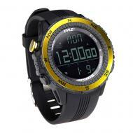 Pyle Sport PSWWM82YL Digital Multifunction Sports Watch w/ Compass - Yellow