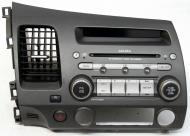 Acura CSX 2006-2007 Factory Stereo 6 Disc Changer MP3 CD Player OEM Radio 4TC2 Face