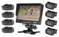 """PYLE PLCMTR74 Complete Rearview Backup Weather Proof Camera w/ 7"""" Monitor"""