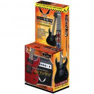 Dean VNXMT MBK PK Traditional Vendetta XM Pack w/ Amp/Pick/Bag - Metallic Black
