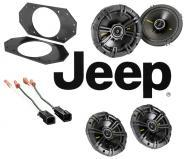 Jeep Wrangler 1997-2006 Kicker CS44 & CS654 Coaxial Factory Upgrade Replacement Speakers