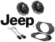 "Jeep Wrangler TJ 1997-2004 Kicker CS44 Factory 4"" Front Coaxial Replacement Speaker Pair"
