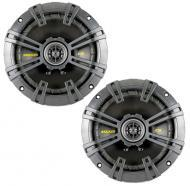 "Kicker Car Audio CSS654 CS-Series 6-1/2"" 2-Way Component Speaker System with Extended Voice ..."
