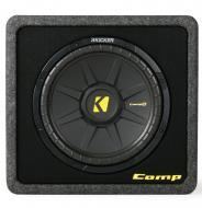 """Kicker Loaded Car Speaker System VCWS12 Single CompS 12"""" Sub Woofer Vented MDF Enclosure Box..."""