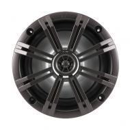 """Kicker KM654LCW 6.5"""" Speakers 4-Ohm LED Accented Marine Coaxial (41KM654LCW)"""