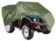 Armor Shield ATV Cover 86.5x49x33.5 Inch Olive Color w/ Non-Shrink Rugged Fabric