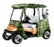 Armor Shield Club Car Precedent Golf Cart Enclosure Camouflage w/ Weather Protection