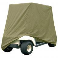 Armor Shield 2 Passenger Golf Cart Storage Cover w/ Water Repellant Olive Color Fabric