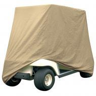 Armor Shield 4 Passenger Golf Cart Storage Cover Tan Color w/ Sun Damage Protection
