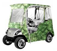 Armor Shield 2009-2010 Yamaha Drive Golf Cart Enclosure Cover Camouflage w/ Clear Window Material