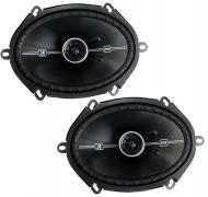 Kicker DSC68 6 x 8-Inch Speakers D-Series Coaxial (41DSC684)