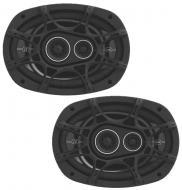 Kicker DSC693 6 x 9-Inch Speakers 3-Way 90 Watt RMS D-Series Coaxial (41DSC6934)
