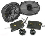 "Kicker Car Audio CSS694 CS-Series 6x9"" 2-Way Component Speaker System with Extended Voice Co..."