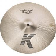 "Zildjian K0944 14"" K Custom Series Dark Hi Hat Top Medium Thin Drumset Cast Bronze Cymbal wi..."